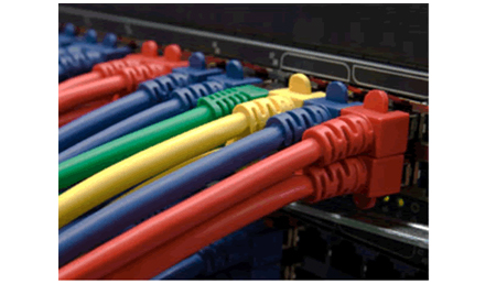 ashworths will plan and lay your data cables in your office fitout