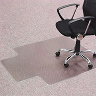 Large Keyhole Chair Mat