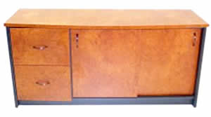 Bow Front Sideboard Combination