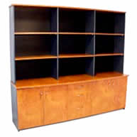 Bow Front Wall Unit