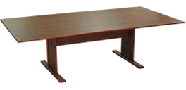 Bow Front Boardroom Table
